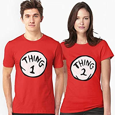 Thing 1,2,3,4,5,6,7,8,9,10 Funny T-Shirt, Send US A Message with The Thing Number Red