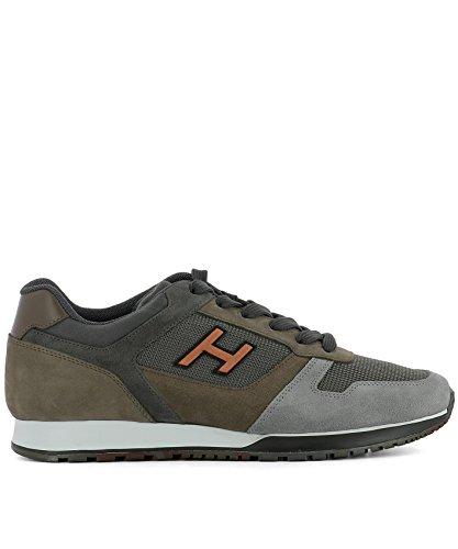 Hogan Zapatillas Para Hombre Verde Verde It - Marke Größe