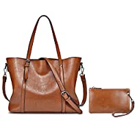 YALXUE Womens Soft Leather Tote Handbag Deals