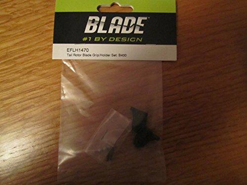 BLADE TAIL ROTOR BLADE GRIP/HOLDER SET: B400 EFLH1470 .HN#GG_634T6344 ()