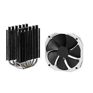 Phanteks Slim Twin Tower Heatsinks, 140mm PWM CPU Cooling PH-TC14S