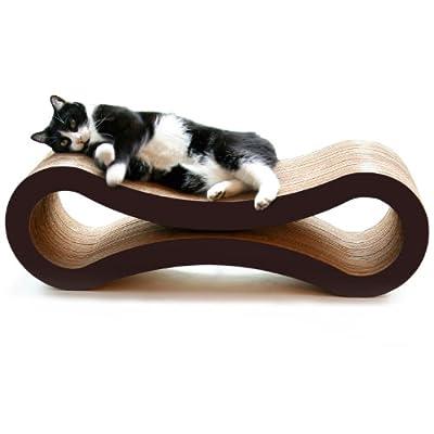 Cat Scratching Post PetFusion Ultimate Cat Scratcher Lounge. [Superior Cardboard... [tag]