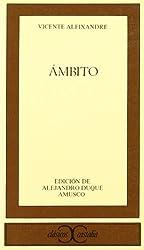 Ambito (Clasicos Castalia) (Spanish Edition)