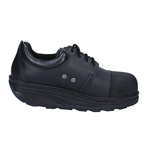Zapatillas Exterior Safety Mujer Negro Mbt Deportes Black Para De Cuero 1ORwxYq