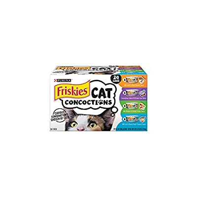 Purina Friskies Cat Concoctions Variety Pack Cat Food - (24) 8.25 lb. Box by Nestlé Purina Wet High Velocity