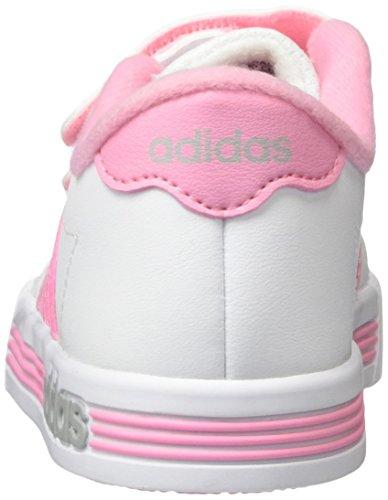 Team Inf Daily Pink adidas Hallenschuhe Kinder Weiß Weiß Unisex Schwarz UtqxTRnZI