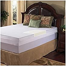 Grande Hotel Collection 3-inch Memory Foam Mattress Topper with Egyptian Cotton Cover King