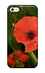 5605224K26481419 Fashion Protective Poppy Flower Case Cover For Iphone 6 4.7