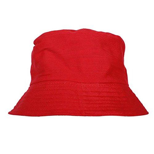 M34 Men Bucket Hat Cotton Fishing Brim Boonie Visor Sun Summer Casual Cap,R