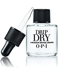 OPI Nail Lacquer Top Coat, Drip Dry Lacquer Drying Drops, 0.3 fl. oz.