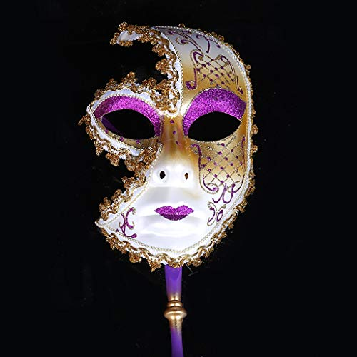 HU European and American Painted Halloween Masks, Prom