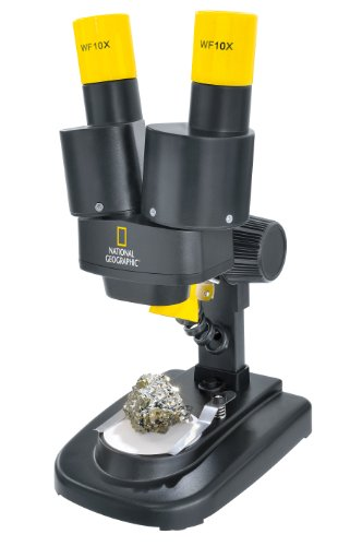 National Geographic 20x Magnification Stereo Microscope by National Geographic