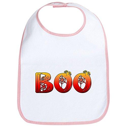 CafePress - Boo Halloween T-Shirts Bib - Cute Cloth Baby Bib, Toddler Bib -
