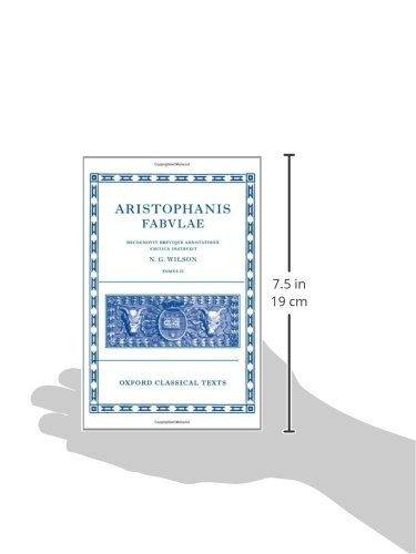 Aristophanis Fabvlae I (Oxford Classical Texts)