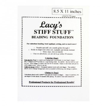 I-Beads lacy' S Stiff Stuff 21.6x 28cm (1)