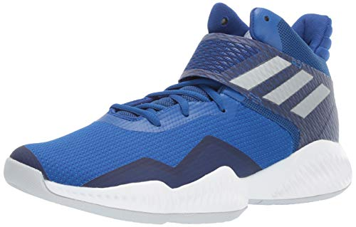 adidas Men's Explosive Bounce 2018 Basketball Shoe, Collegiate Royal/Silver Metallic/Bright Blue, 11 M US ()