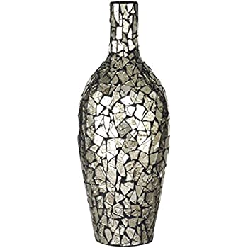 Amazon Com Diva At Home 15 75 Quot Shimmering Silver Mosaic