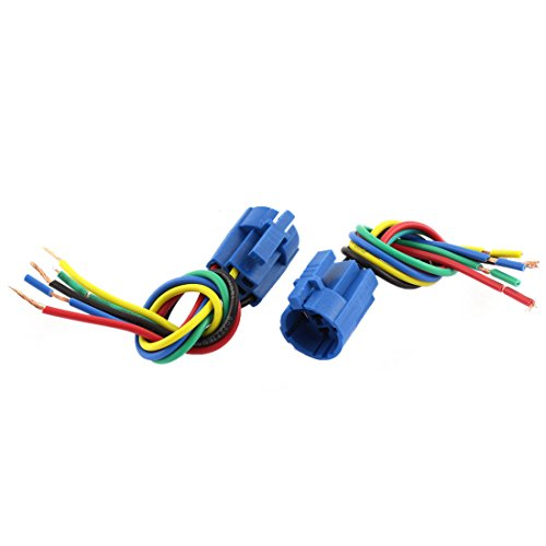 uxcell 2PCS Car 19mm Socket Plug for Switch ON/OFF Button
