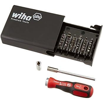 Wiha 71990 Standard Security Bit Set 39 Piece