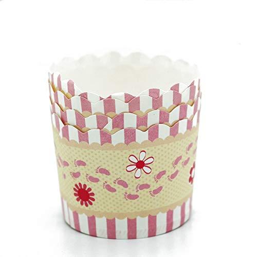 1 piece Unibird 50Pcs Thicken Paper Muffin Cupcake