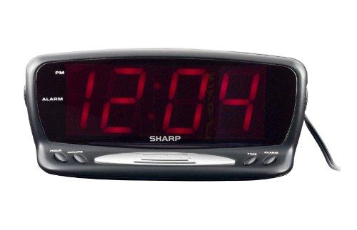 Sharp SPC1221 Alarm Clock Black