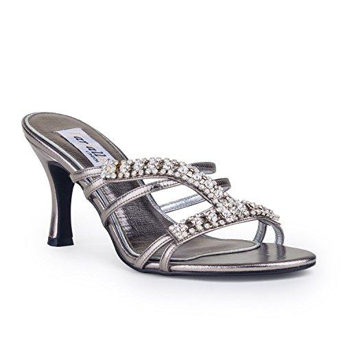 FARFALLA de gris Gris lujo zapatos AwF7xqr1A