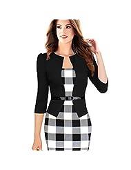 Dress Women Long Sleeve Slim Bodycon Pooqdo®