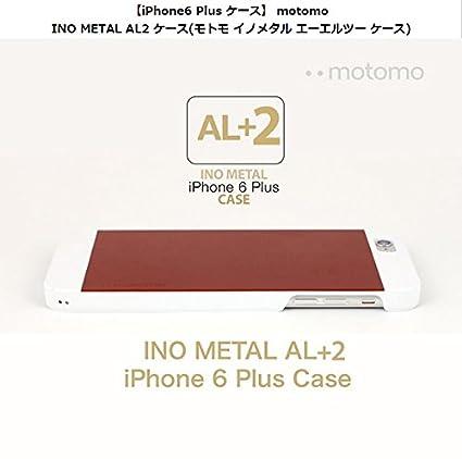 26b86d73a8 Amazon | <国内正規品>【iPhone6s Plus/iPhone6 Plus 5.5インチ】INO METAL AL2 ケース(モトモ  イノメタル エーエルツー ケース) (MT5815i6P(シルバーホワイト)) ...