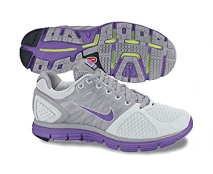 089a4ceac2c9 Nike Lunarglide+ 2 Womens Running Shoes  407647-051  Pure Platinum Bright  Volt