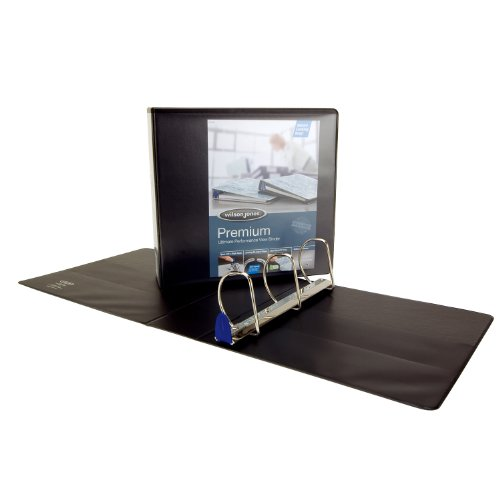- Wilson Jones Premium Single Touch Locking D-Ring Binder, 3-Inch Capacity, 8.5 x 11 Inch Sheet Size, Black (W86631H)