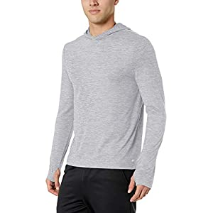 Amazon Essentials Men's Tech Stretch Long-Sleeve Performance Pullover Hoodie 18