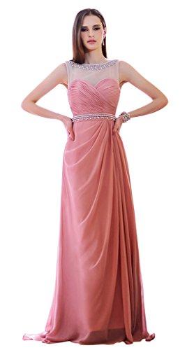 Vimans Damen ALinie Kleid Rosa Pink MDeVSS - indention.ferienwohnung ...