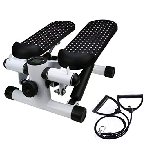 Huikai Stepper Pedal, Household Hydraulic Mute Stepper Pedal Sports Stepper Legs Exercise & Fitness Step Machines with Resistance Bands for Wowen by Huikai