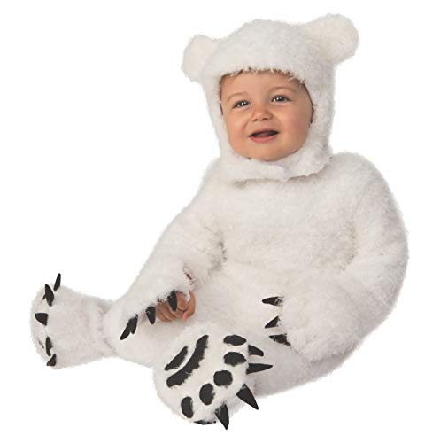 Bear Halloween Costumes For Toddlers (Rubie's Kid's Opus Collection Lil Cuties Polar Bear Cub Costume Baby Costume, As Shown,)