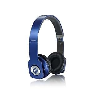 Noontec Zoro Professional - Auriculares de diadema cerrados, azul
