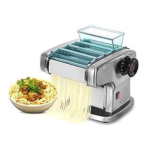 Macchina per pasta elettrica da 135 W, macchina per noodle automatica, macchina per spaghetti, modalità 4 lame…