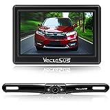 "VECLESUS M1 Backup Camera with 4.3"" Rear View Monitor for Car, Waterproof Night Vision Car Backup Camera License Plate"