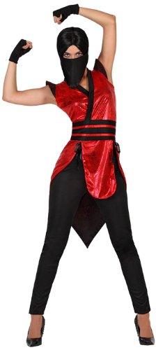 Atosa - Disfraz de ninja para mujer, talla XL (22796 ...