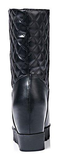 On Classique Slip Bottes Mollet Aisun Noir Ski Femme pIq84FwT