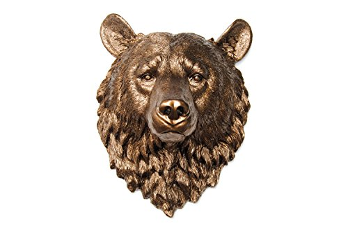 resin bear head - 4