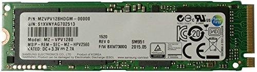 SSD Samsung NVMe SM951 128GB M.2 PCIe 3.0, 2000/650MBs, IOPS 300k/83K by Samsung (Image #1)