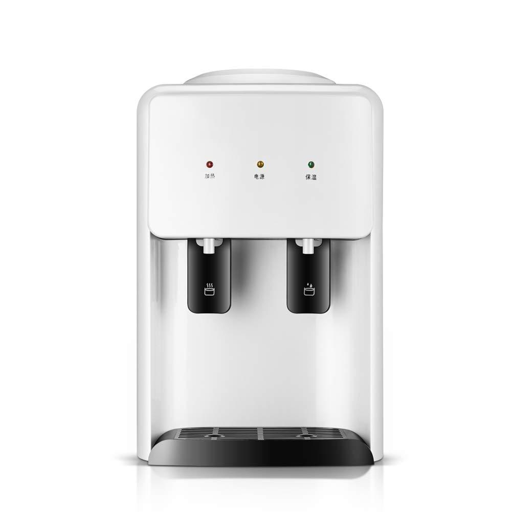 Blanco Home Desktop Mini Frío Caliente Y Dispensador De Agua Caliente Empujando Interruptor Conveniente Conseguir Agua Ahorro De Energía De Agua Máquina De ...