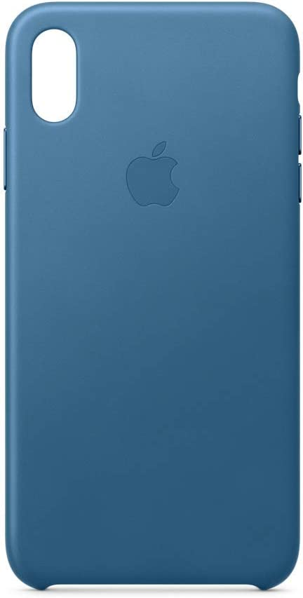 Apple Leather Case (for iPhone Xs Max) - Cape Cod Blue