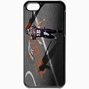 Personalized iPhone 5C Cell phone Case/Cover Skin 14583 tebow wp 20 sm Black by mcsharks