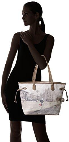 Bolsos I Shopping Colores 319 Mujer Hombro Y De Not Varios Shoppers fashion xPwnqIIfS