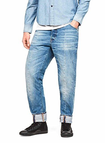 Uomo Raw Blue Tapered Jeans star G nqAYHOxw