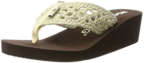 para Chanclas Stapleton Natural Natural Aviara Mujer Beige Stapleton Rocket Dog qStZB