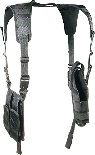 (UTG LE Grade Vertical Shoulder Holster, Black)