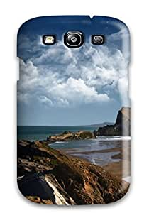 Cute Appearance Cover/tpu GCQFNqj319NIUsl Attractive Lighthouse Abstract World Abstract Case For Galaxy S3