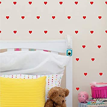 Buy Shoppingtree S Cute Heart Wall Sticker For Bedroom Living Room Drawing Room Decoration Online At Low Prices In India Amazon In